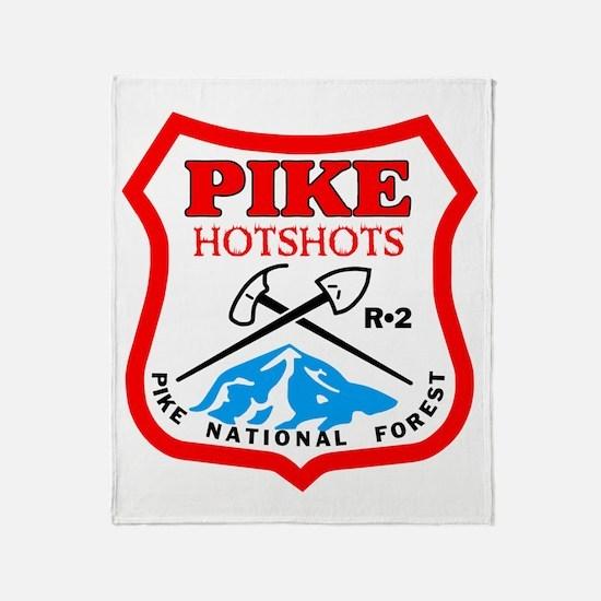 Pike-Hotshots-Bonnie Throw Blanket