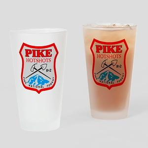 Pike-Hotshots-Dark-Shirt- Drinking Glass