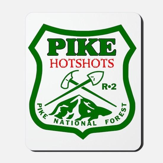 Pike-Hotshots-Green-Red Mousepad