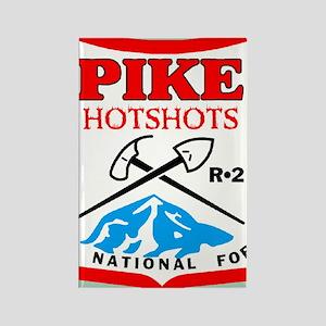 Pike-Hotshots-Button-2 Rectangle Magnet