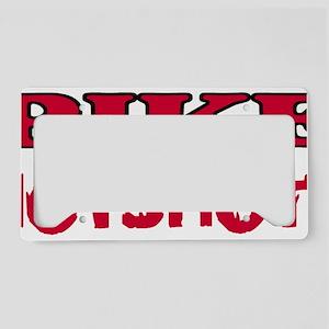 Pike-Hotshots-Shirtback-Red License Plate Holder