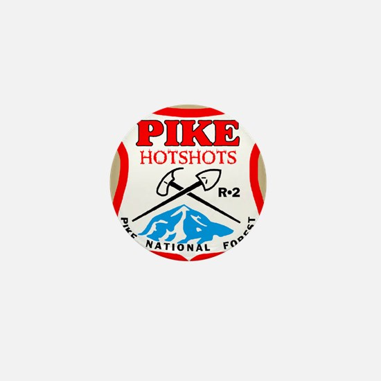 Pike-Hotshots-Magnet-Khaki Mini Button