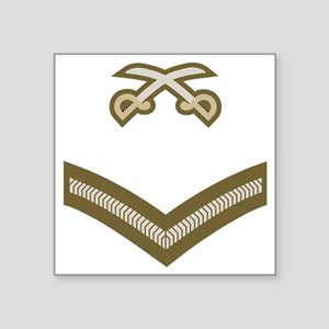 "British-Army-PTI-LCpl-Bear Square Sticker 3"" x 3"""