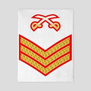 British-Army-PTI-Sergeant-Red-Dress- Twin Duvet