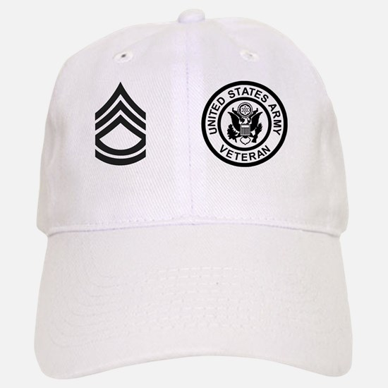 Army-SFC-Subdued-Mug-Veteran Baseball Baseball Cap