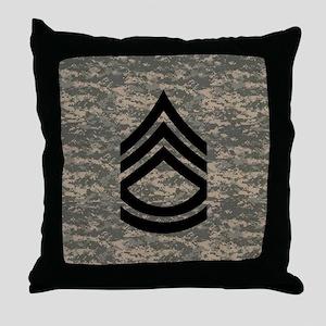 Army-SFC-ACU-Tile- Throw Pillow