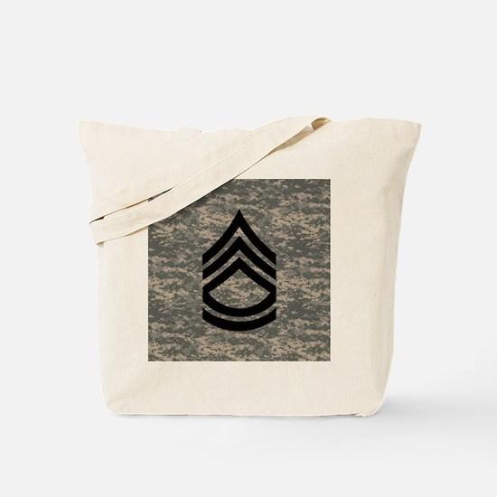 Army-SFC-ACU-Tile-PNG Tote Bag