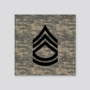 "Army-SFC-ACU-Tile- Square Sticker 3"" x 3"""