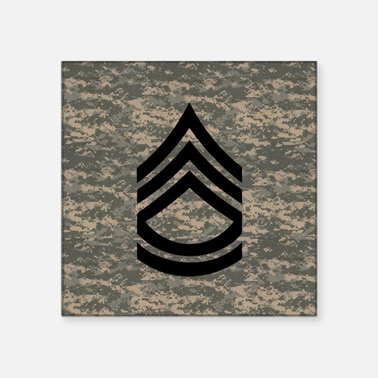 """Army-SFC-ACU-Tile-PNG Square Sticker 3"""" x 3"""""""