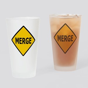 Sign-Merge Drinking Glass