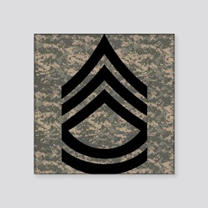 "2-Army-SFC-ACU-Mousepad- Square Sticker 3"" x 3"""
