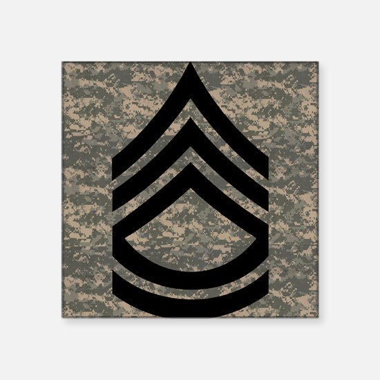 """2-Army-SFC-ACU-Mousepad-PNG Square Sticker 3"""" x 3"""""""