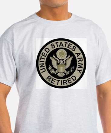Army-Retired-Subdued T-Shirt