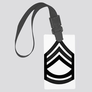 Army-SFC-Subdued-Pin Large Luggage Tag