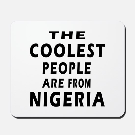 The Coolest Nigeria Designs Mousepad