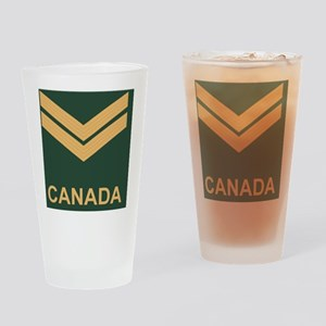 Canada-Army-Corporal-Slide Drinking Glass