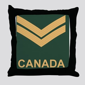 Canada-Army-Corporal-Slide Throw Pillow