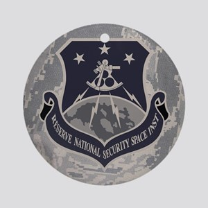 USAFR-RNSSI-Mousepad- Round Ornament