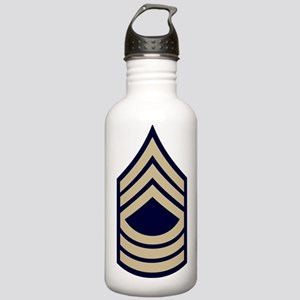 Army-MSgt-WWII-Khaki Stainless Water Bottle 1.0L