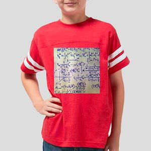 Particle physics equations Youth Football Shirt