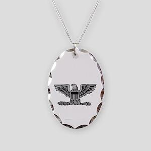 Army-506th-PIR-Col-Spade Necklace Oval Charm