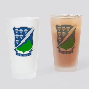 2-Army-506th-Infantry-WWII-Currahee Drinking Glass