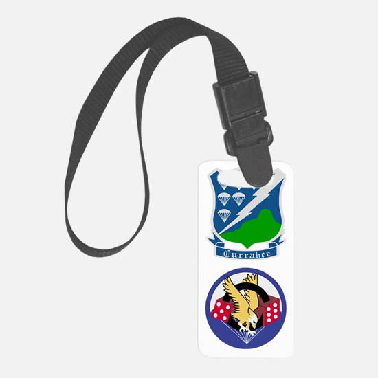 Army-506th-Infantry-Currahee-Par Luggage Tag