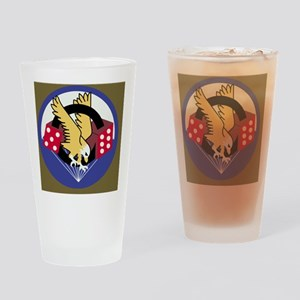 Army-506th-Infantry-Paradice-Tile Drinking Glass