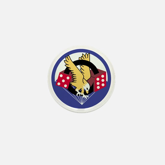Army-506th-Infantry-Para-Dice Mini Button