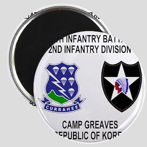 Army-506th-Infantry-Korea-Shirt Magnet