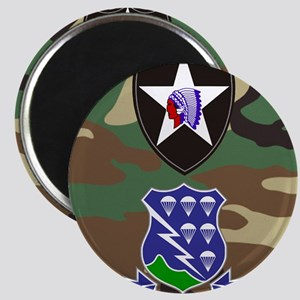 Army-506th-Infantry-2nd-Infantry-Div-Mousep Magnet