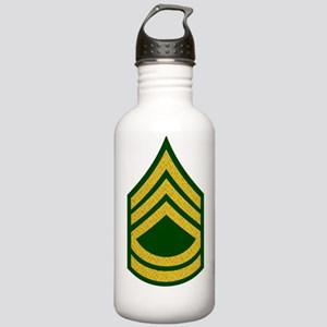 Army-SFC-Gold-Fancy-On Stainless Water Bottle 1.0L