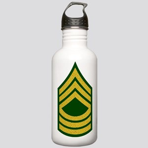 Army-MSG-Gold-Fancy-On Stainless Water Bottle 1.0L