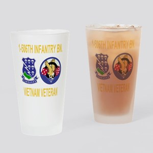 2-Army-506th-Infantry-1-506th-Vietn Drinking Glass
