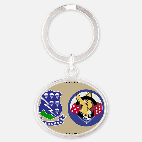 2-Army-506th-Infantry-2-506th-Vietna Oval Keychain