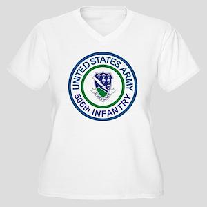 Army-506th-Infant Women's Plus Size V-Neck T-Shirt