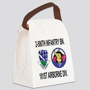 2-Army-506th-Infantry-2-506th-101 Canvas Lunch Bag