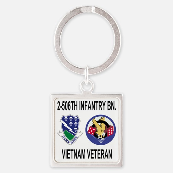 4-Army-506th-Infantry-2-506th-Viet Square Keychain