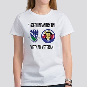 4-Army-506th-Infantry-1-506th-Viet Women's T-Shirt