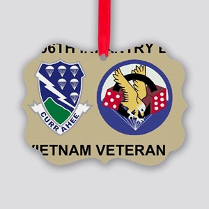 Army-506th-Infantry-3-506th-Vietn Picture Ornament