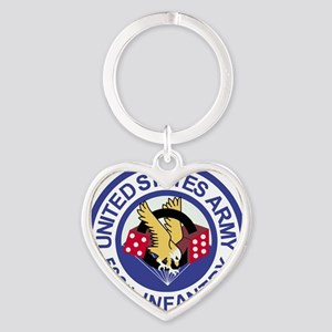 Army-506th-Infantry-Roundel-Paradic Heart Keychain