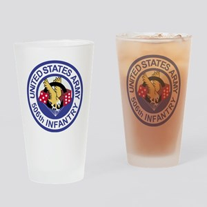 Army-506th-Infantry-Roundel-Paradic Drinking Glass