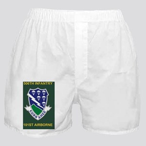 Army-506th-Infantry-Currahee-Mousepad Boxer Shorts
