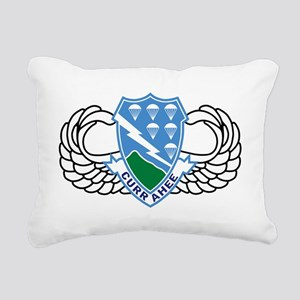 Army-506th-Infantry-Regi Rectangular Canvas Pillow