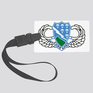 2-Army-506th-Infantry-Regiment-A Large Luggage Tag