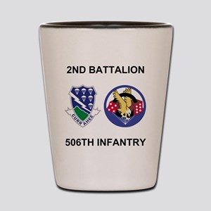 Army-506th-Infantry-BN2-Currahee-Paradi Shot Glass