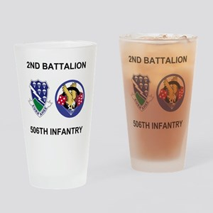 Army-506th-Infantry-BN2-Currahee-Pa Drinking Glass