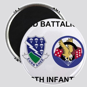 Army-506th-Infantry-BN2-Currahee-Paradice Magnet