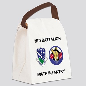 Army-506th-Infantry-BN3-Currahee- Canvas Lunch Bag