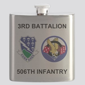 Army-506th-Infantry-BN3-Currahee-Paradice Flask